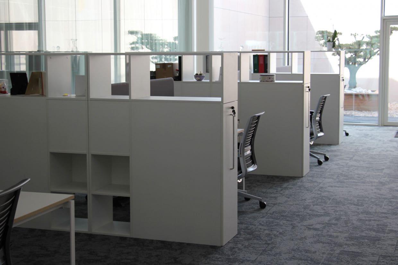 Bureaux dans les locaux de Pierre Fabre - Cauquillous agencé par SAFRA Agencement