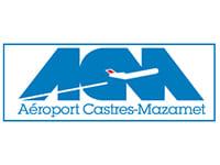 Logo de l'aéroport Castres-Mazamet