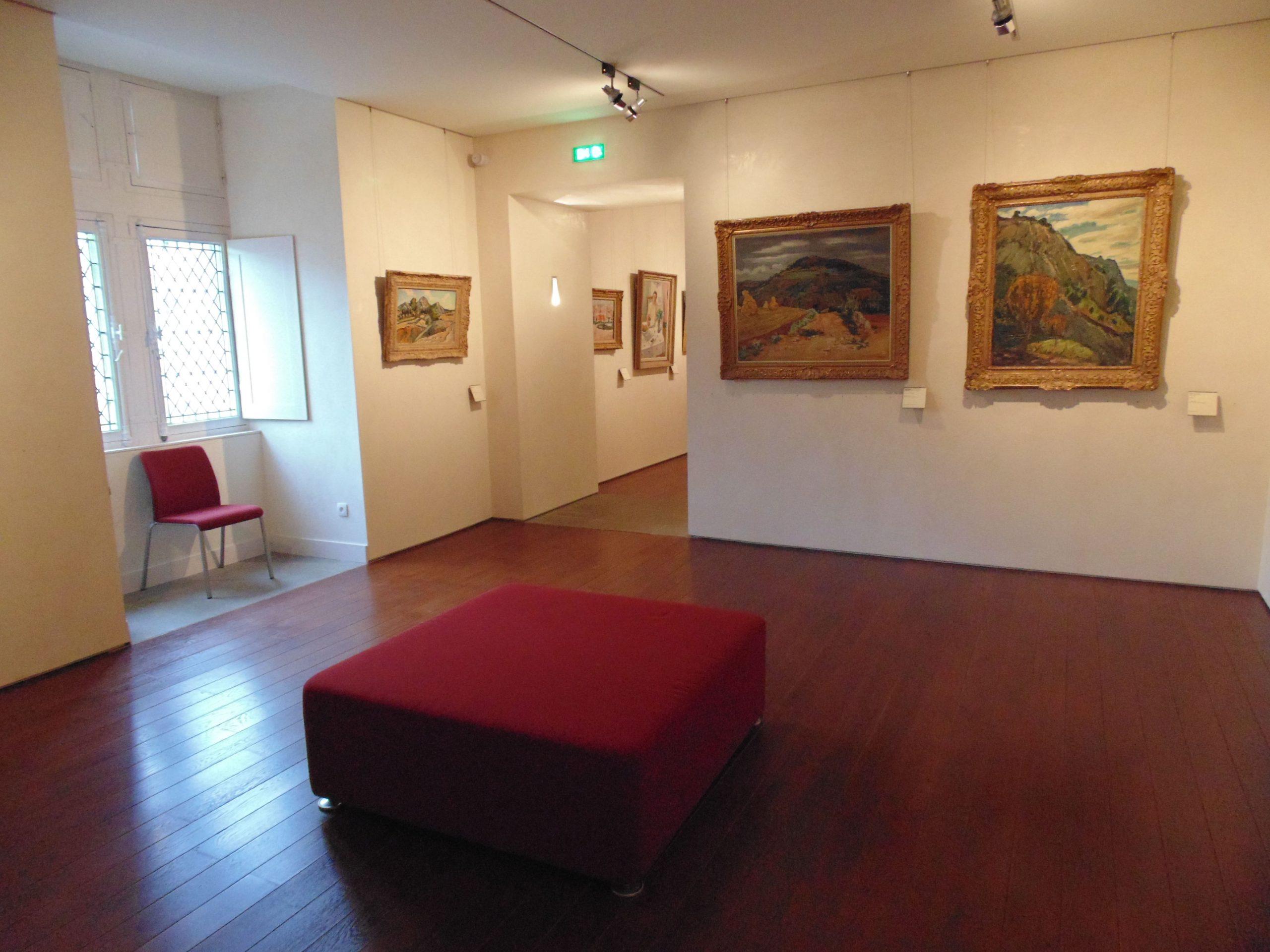 Exposition dans le Musée Toulouse Lautrec à Albi agencé par SAFRA Agencement